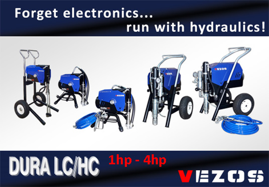 hydraulic professional paint sprayers - airless spray equipment