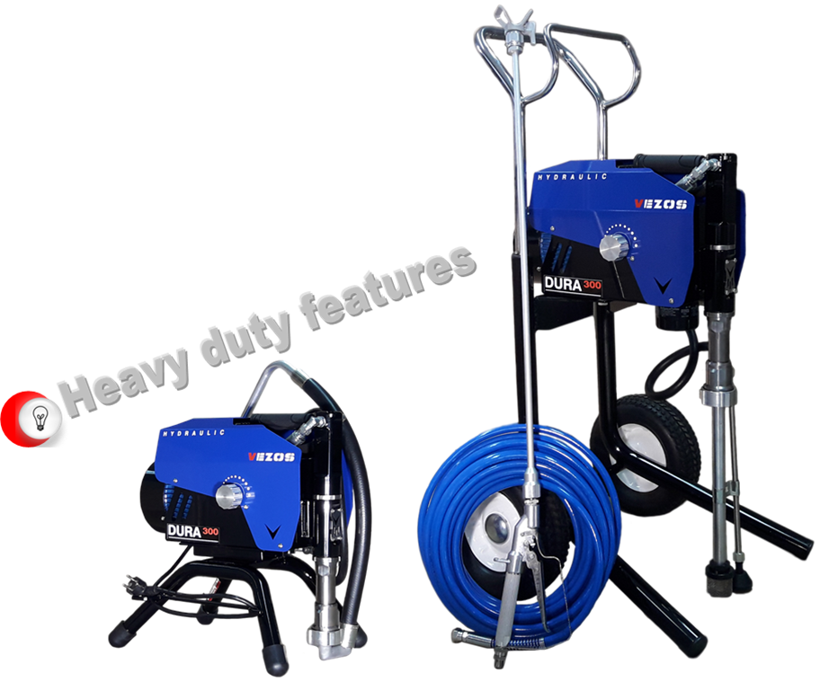 heavy duty airless paint sprayer vezos