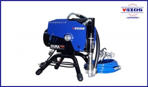 electric airless sprayer dura lc vezos