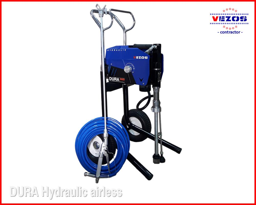 AIRLESS PAINT SPRAYERS DURA LC 300 HIGH CART VEZOS