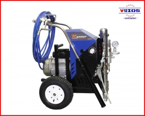 hydraulic airless texture sprayer electric