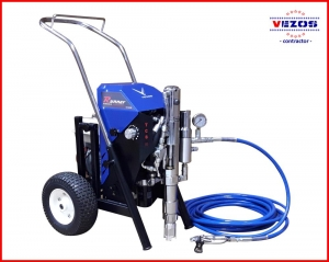 hydraulic airless texture sprayer gas