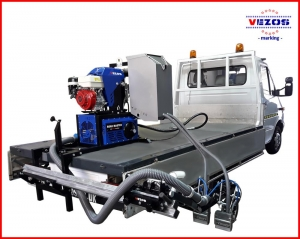 Line striping mounted systems - Truck mounted line stripers BASIC VEZOS